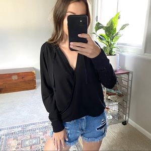 Lauren Ralph Lauren comfy loose black sweater